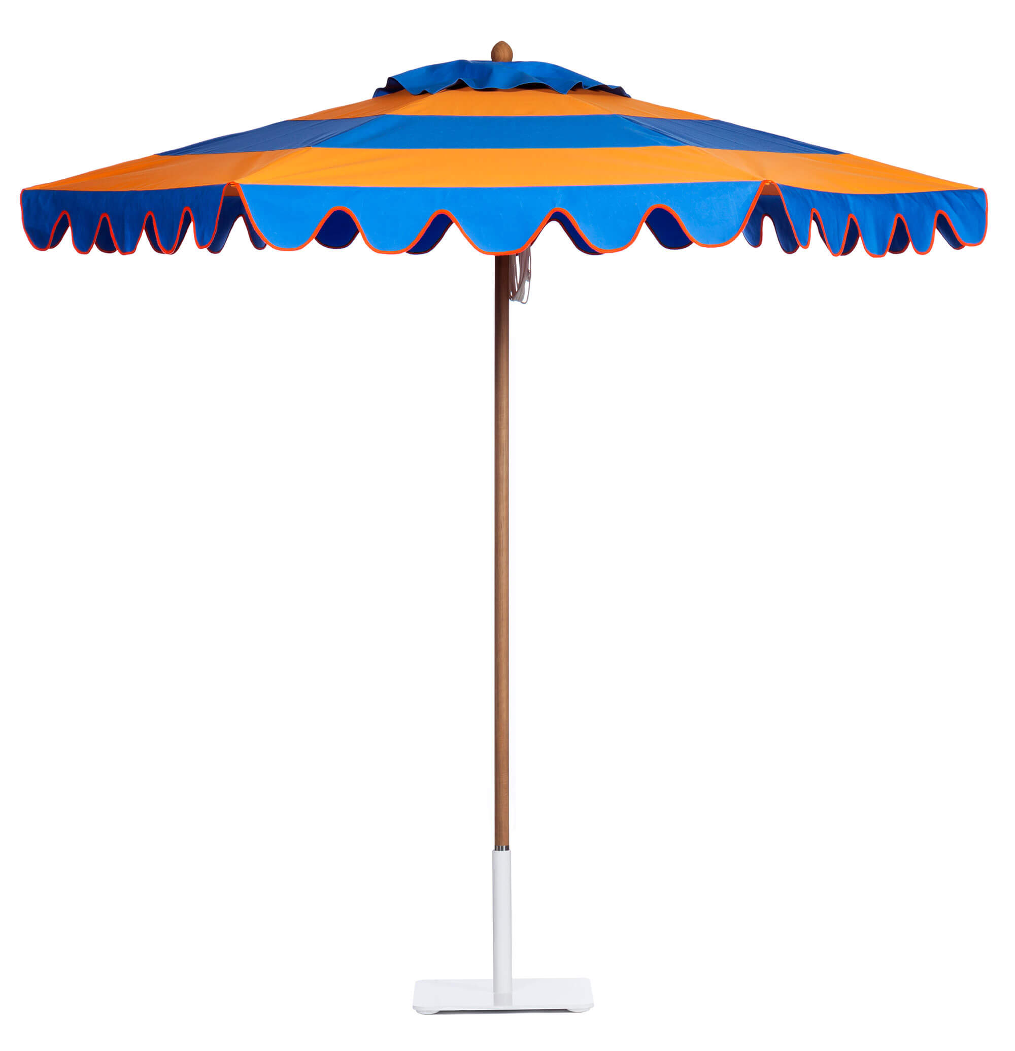 Tango Orange / Indigo Umbrella Image