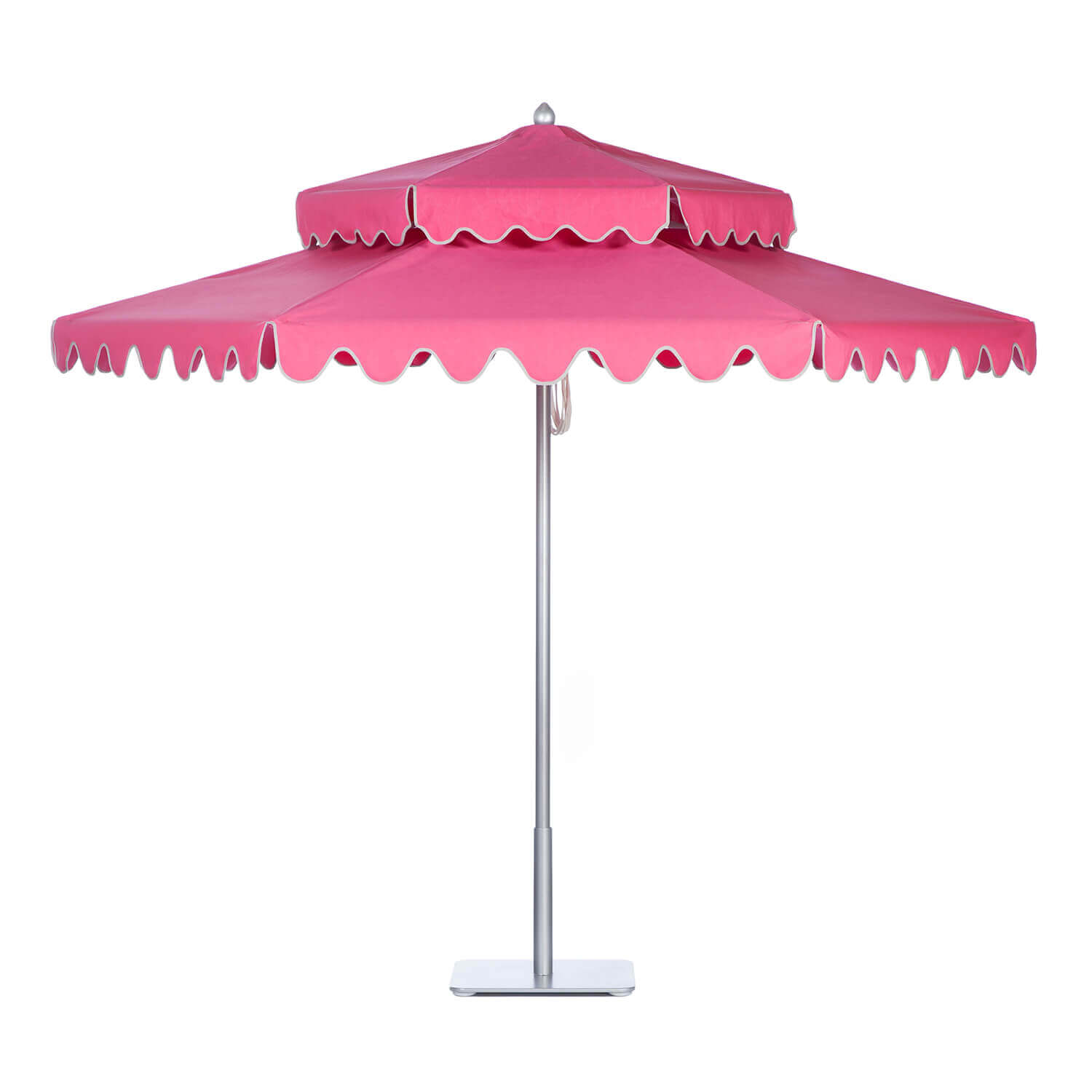 Tropical Pink Umbrella Image