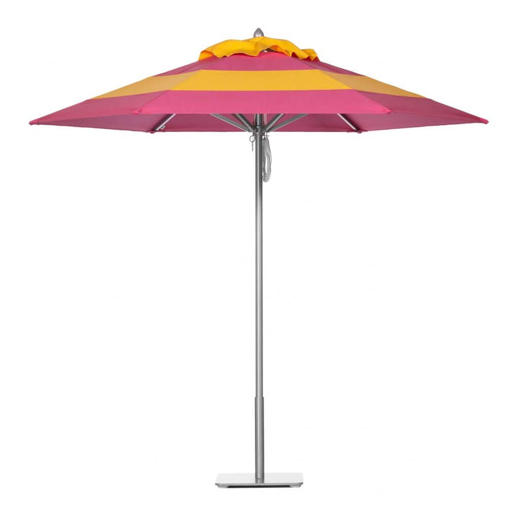 Tropical Pink & Cornsilk Vogue Umbrella Image